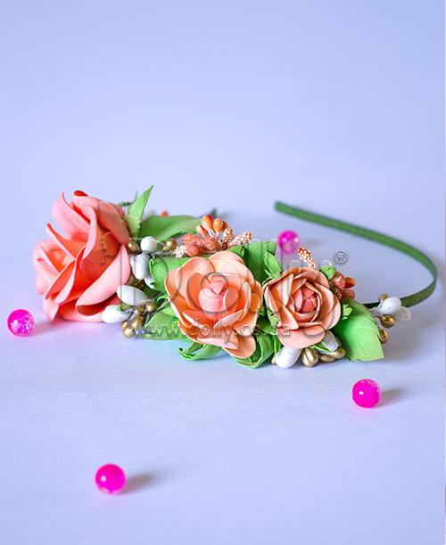 Обруч Роза разноцветный