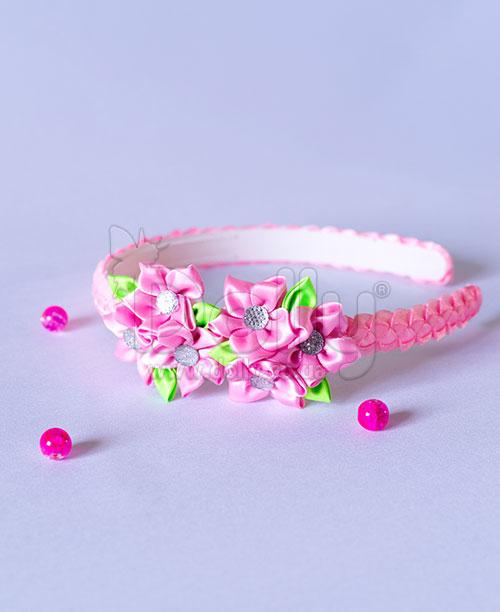 Обруч Адениум розовый