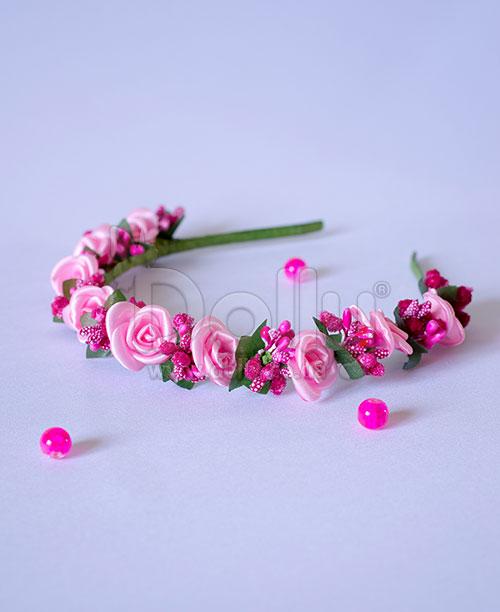 Обруч Адонис розовый