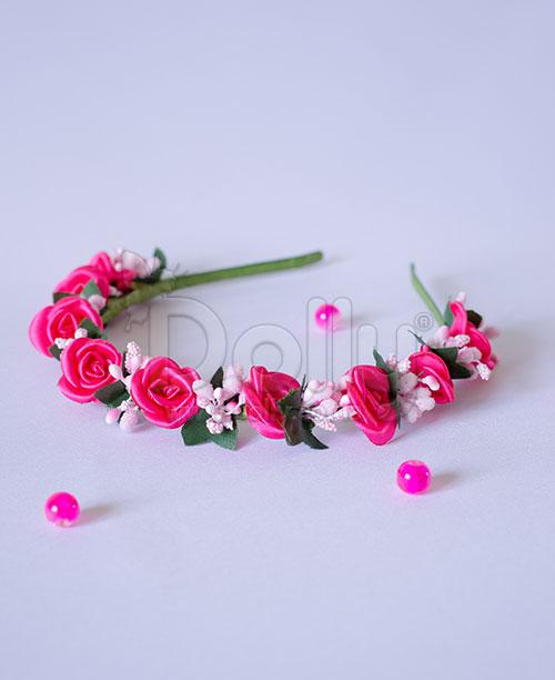 Обруч Астра розовый