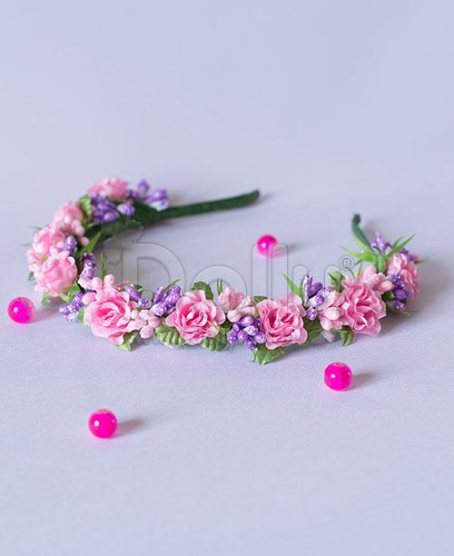 Обруч Бегония розово-фиолетовый