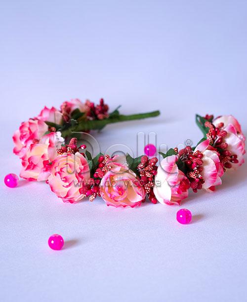Обруч Геацынт розовый