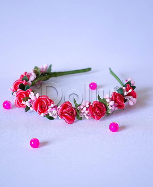 Обруч Глориоза розовый