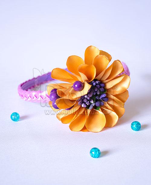 Обруч Лазурник оранжево-фиолетовый