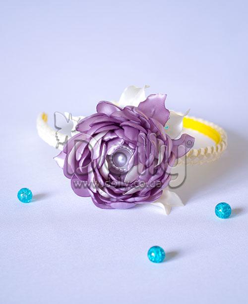 Обруч Лютик фиолетовый