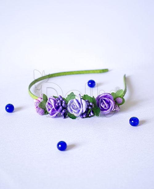 Обруч Нонея фиолетовый