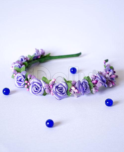 Обруч Орхидея фиолетовый