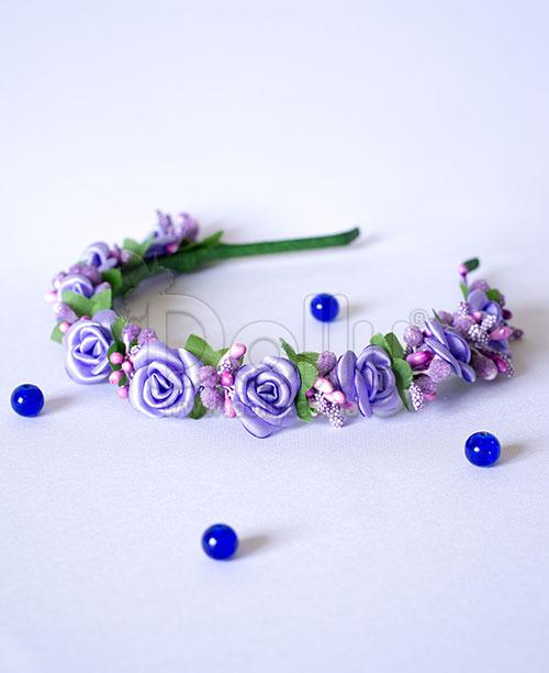Обруч Рамонда фиолетовый