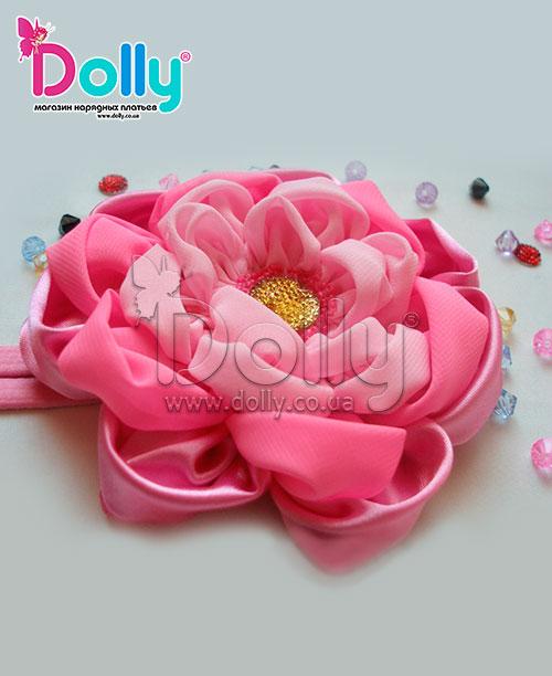 Повязка Марта розовая