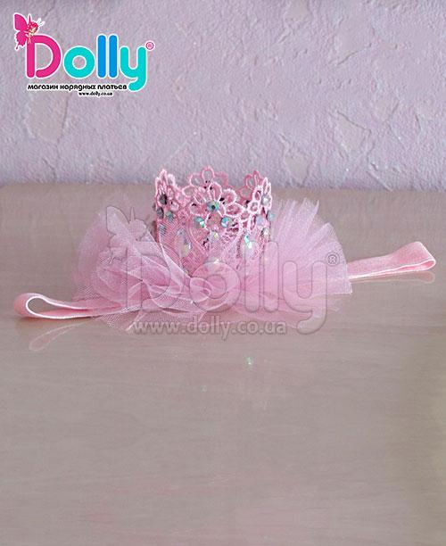 Повязка Хелен розовая
