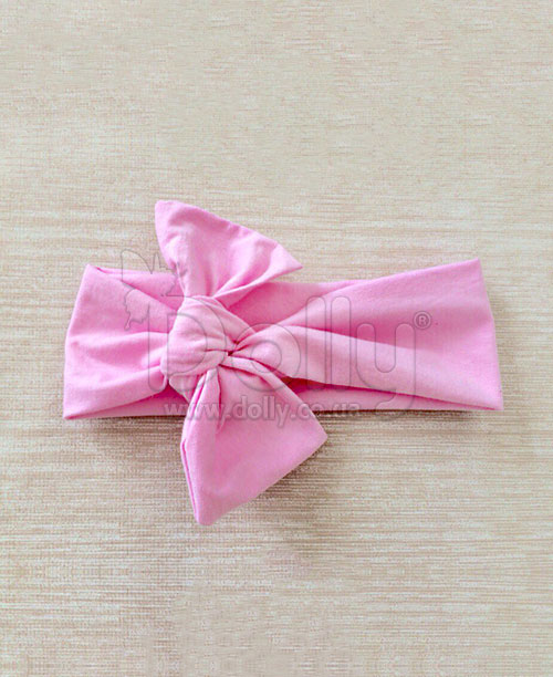 Повязка Мия розовая