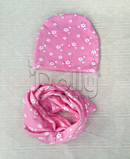 Шапка Кларис розовая