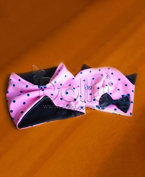 Шапка Клоди розовая