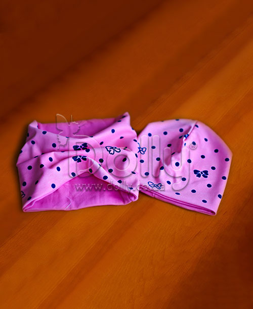 Шапка Никоул розовая