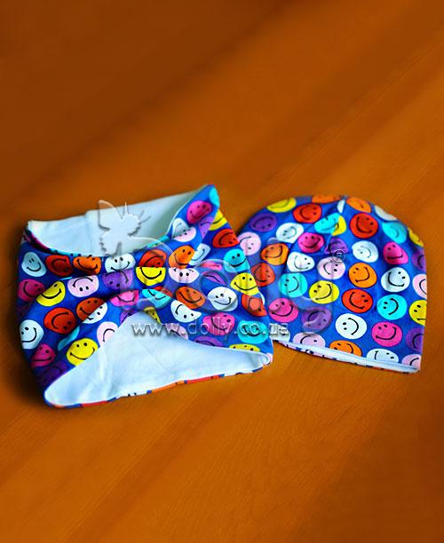 Шапка Сирил разноцветная