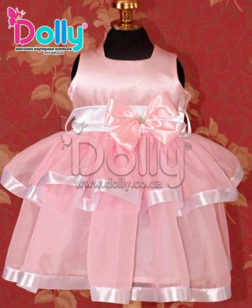 Платье Агнес розовое