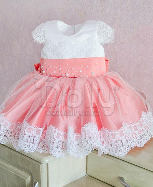 Платье Аврора персиковое