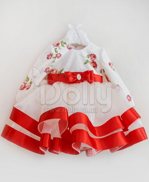 Платье Адилин разноцветное