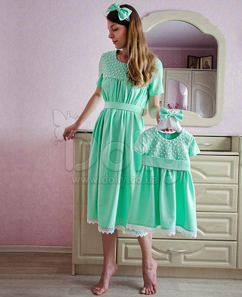 Платье Сказочный эльф бирюзовое