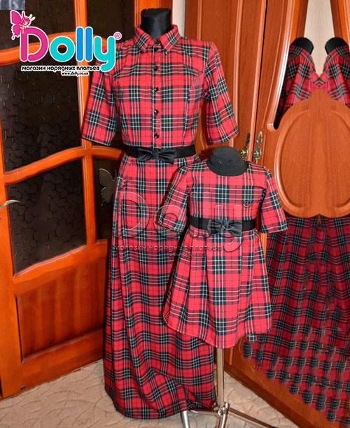 Платье Доминиано красное
