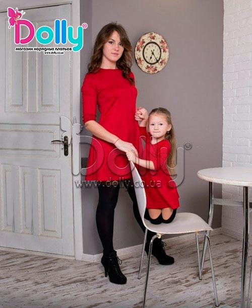 Платье Ирма красное