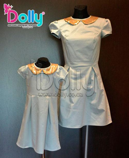 Платье Эрика серое