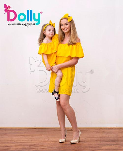 Платье Клео жёлтое