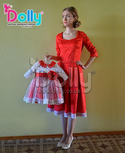 Платье Кетлин красное
