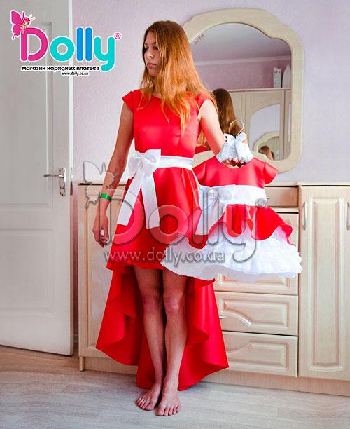Платье Мариса красное