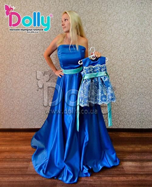 Платье Памела синее