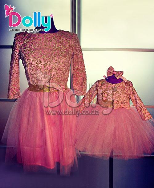 Платье Присцилла розовое