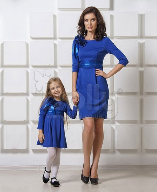 Платье Алана синее