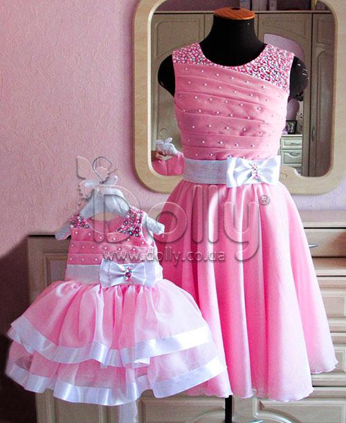 Платье Силви розовое