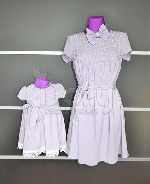 Платье Изабель фиолетовое