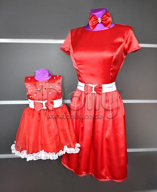 Платье Коринн красное
