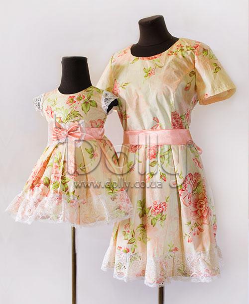 Платье Селести разноцветное
