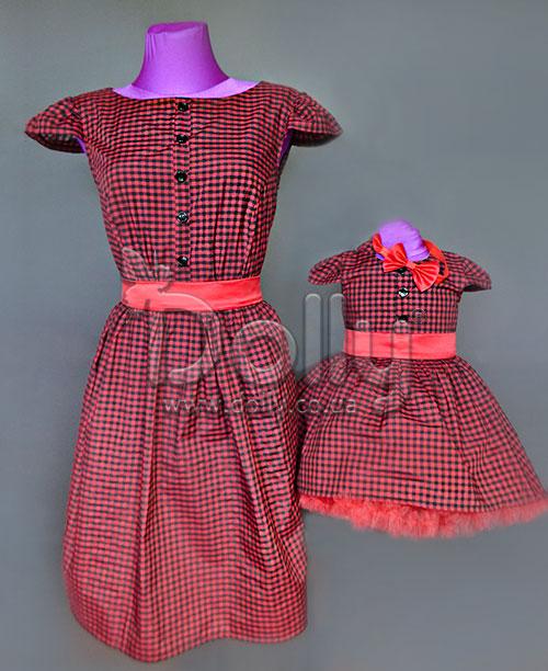 Платье Авдия красное