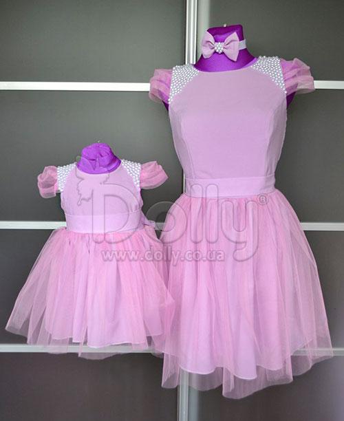 Платье Кристина розовое