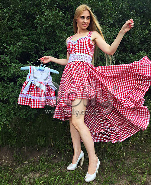 Платье Корнелия красное