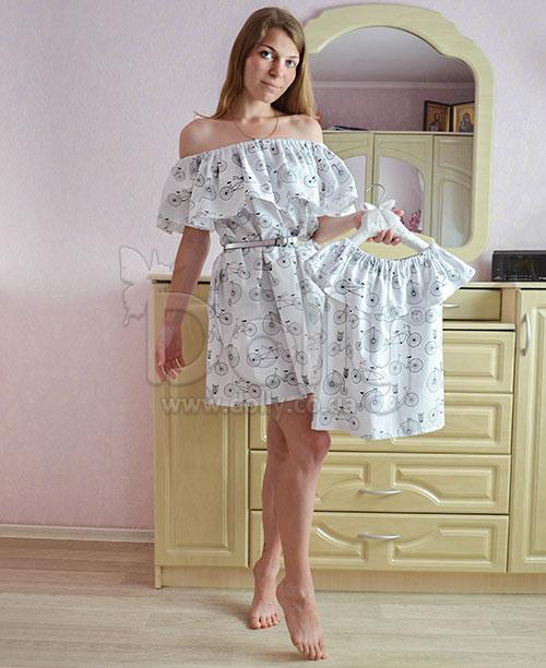 Платье Ивлин разноцветное