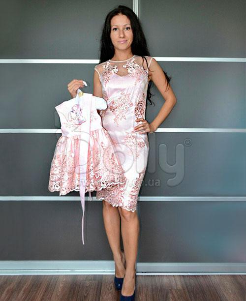 Платье Мэдисон розовое