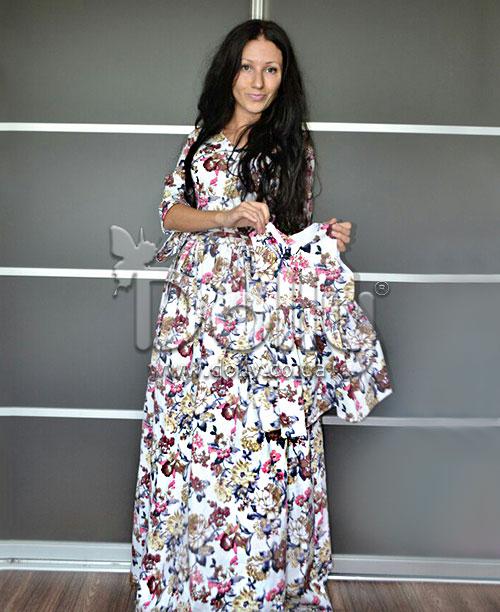 Платье Ширли разноцветное