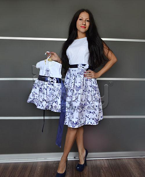 Платье Ибби разноцветное