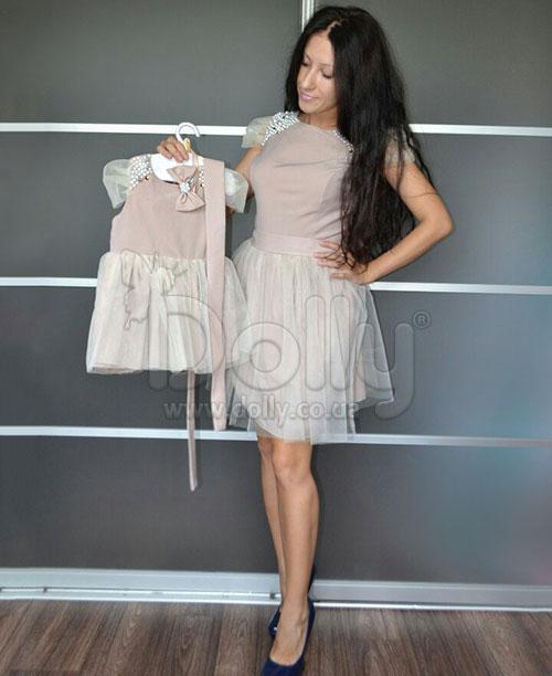 Платье Исобель бежевое