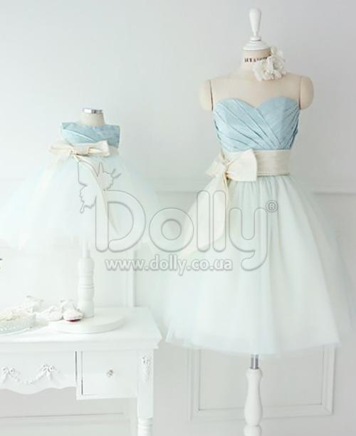 Платье Консуела голубое
