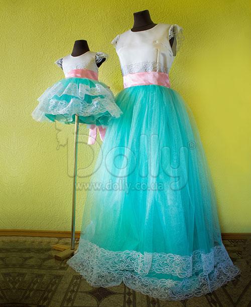 Платье Аурэли разноцветное