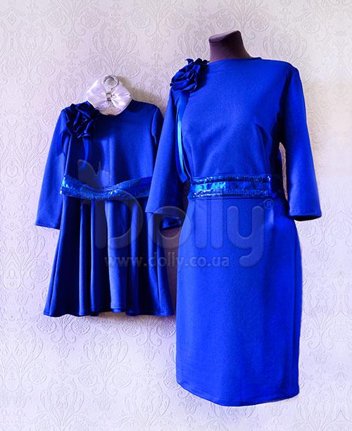 Платье Арин синее