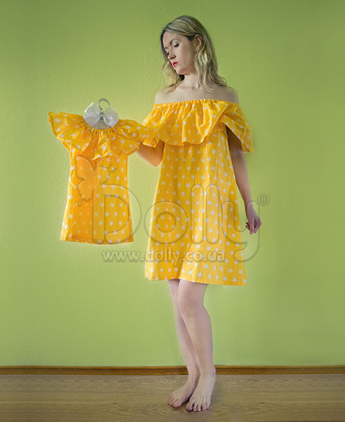 Платье Ариша жёлтое