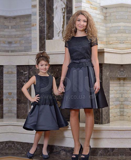 Платье Люмен чёрное
