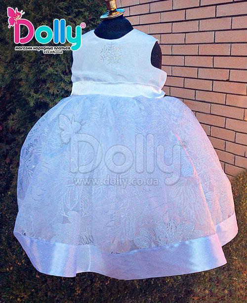 Платье Лучик белое